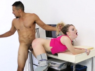 Teen gets bdsm fucked