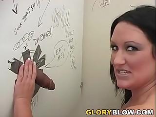 Experimental Holly Interracial Gloryhole