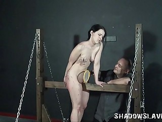 Teen amateur bdsm coupled with progressive pussy to tears be proper be expeditious for kinky Kami near pain